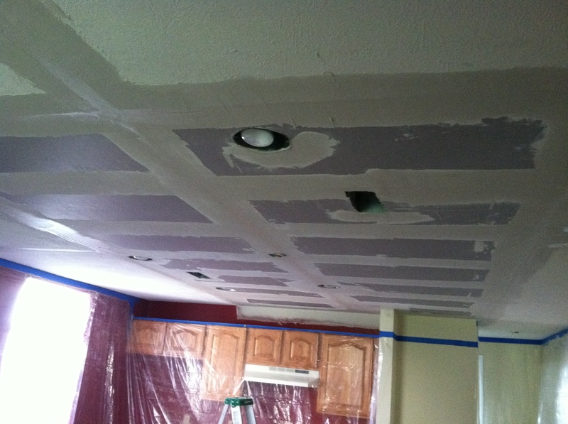 water damage repair basement ceiling